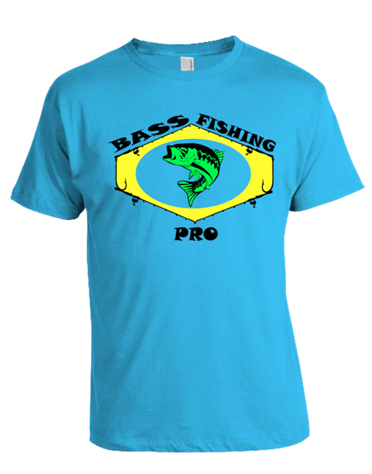 Bass fishing pro t shirt for Bass fishing shirt