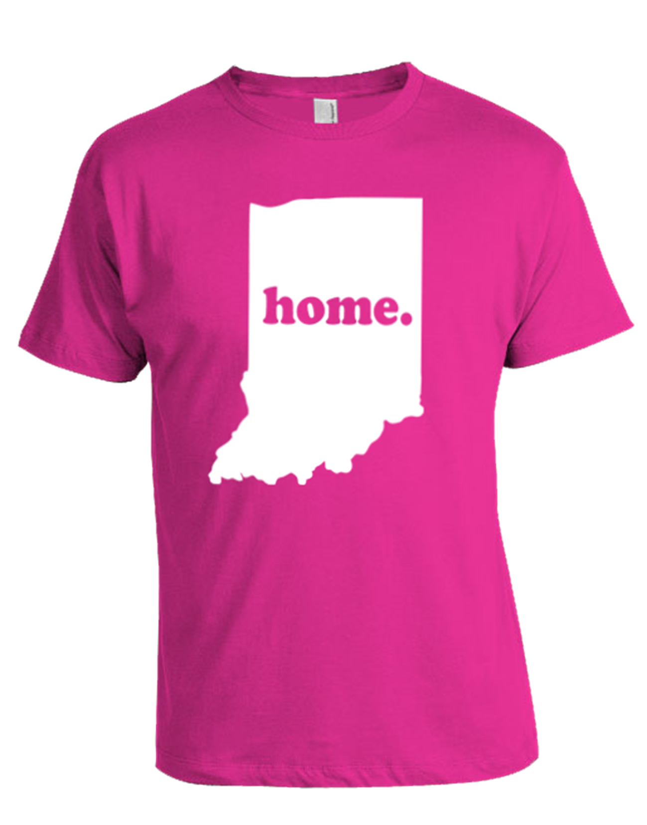 Indiana Home T Shirt Pink Life House Ink
