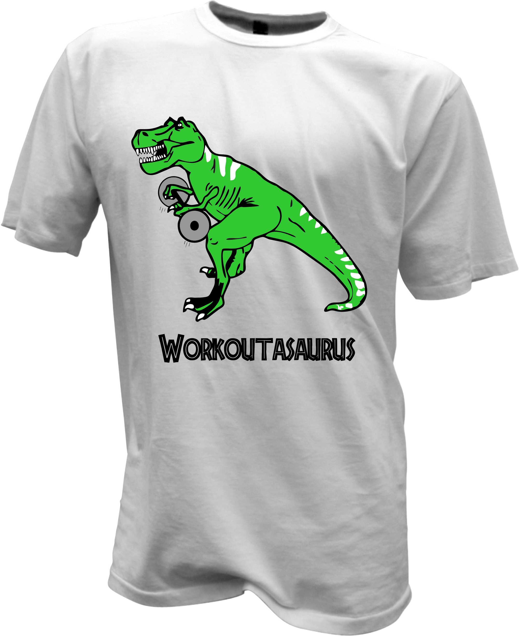 Dinosaurs workout t shirt for Design your own workout shirt