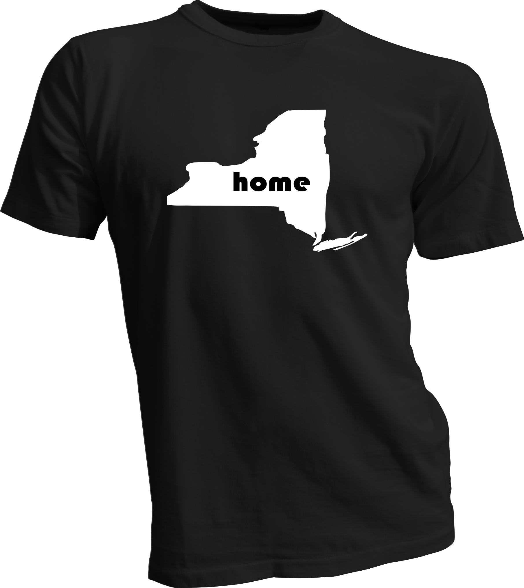 New york home t shirt for T shirt screen printing nyc